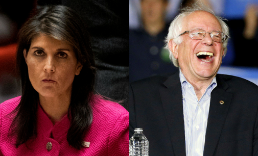 "Nikki Haley Tells Bernie Sanders It Is ""Ridiculous"" to Examine Poverty in the US"
