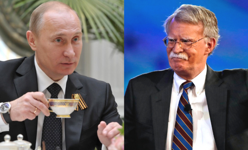 Vladimir Putin and John Bolton Meet in Preparation for Presidential Summit