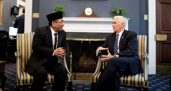 With Pence and Netanyahu Meetings, Indonesia Signals Shift to Saudi-Israeli Fold