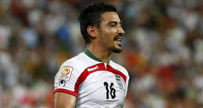 Iranian striker Ghoochannejad says goodbye to international duty