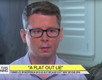 Watch Federal Agents Interrupt CBS Interview With ICE Whistleblower