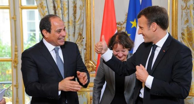 French promoting Egypt's repression through arms sales: Rights groups