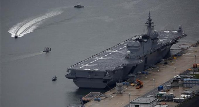 Japan to send helicopter carrier to South China Sea