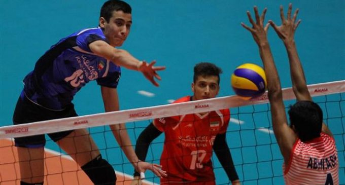 Iran swamps India in straight sets at 2018 Asian Boys' U18 Volleyball Championship