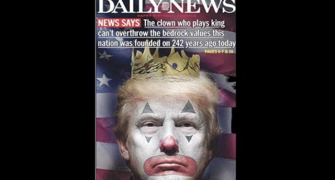 US newspaper mocks Trump as a 'clown' on country's independence day