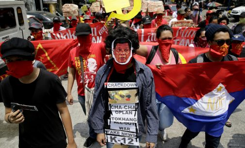 "Duterte Beckons Communist Negotiators ""Home"" to Talk at Gunpoint, Reds Reject the Invitation"