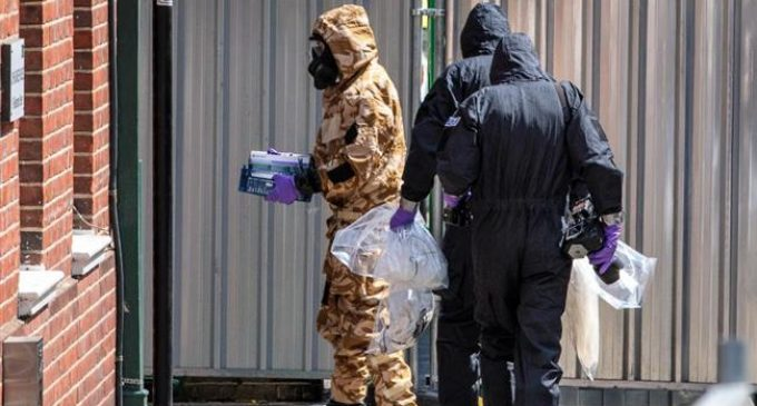 UK once again points finger at Russia over Novichok poisoning