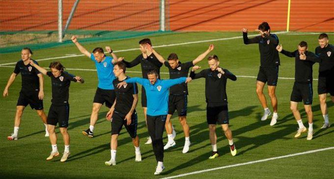 Russia: Croatia back to training after semi-final win