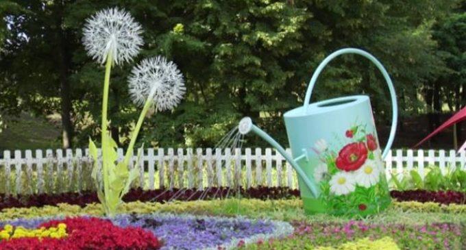 Flower show opens in Ukrainian capital