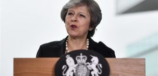 May urges EU to 'evolve' position on Irish border issue