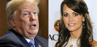 Trump denies wrongdoing in Playboy model case, lashes out at his lawyer for taping him
