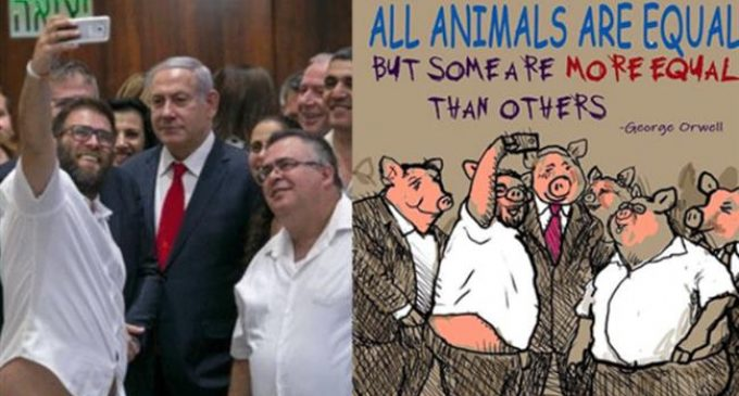 Israeli magazine fires cartoonist for depicting PM, lawmakers as pigs