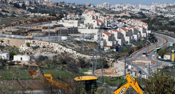 Palestinians warn about Israeli settlement activity in W Bank