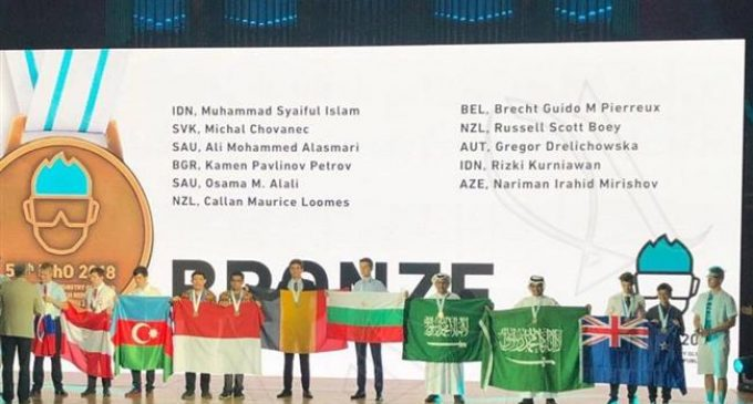Saudi student refuses to stand next to Israeli at Olympiad