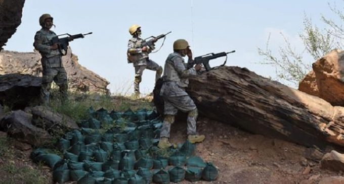Yemenis kill 4 Saudi troopers in mortar attack on bases in kingdom's Najran, Jizan