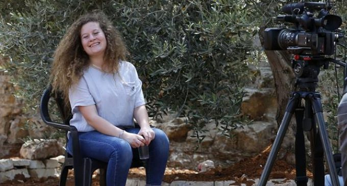 Palestinian teen Ahed Tamimi says has no regrets after release from Israeli jail