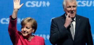 Thousands protest migration policy of Merkel's Bavarian allies