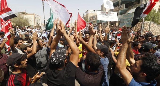 Iraq's south witnesses new protests against corruption, power cuts