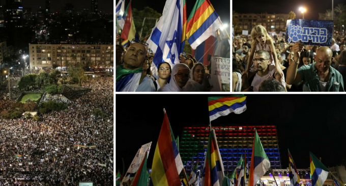 Massive Protests Erupt in Tel Aviv Over Israel's Jewish Nation-State Law