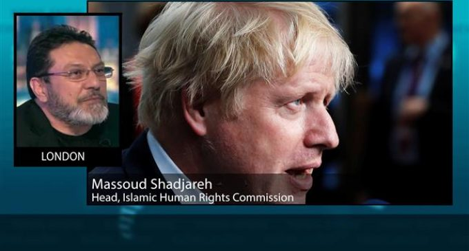 Johnson trying to reach out to fascists, racists: Expert