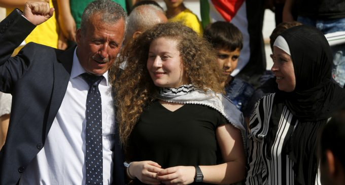 Ahed Tamimi Comes Home to Great Joy but Also Reminders of Pain