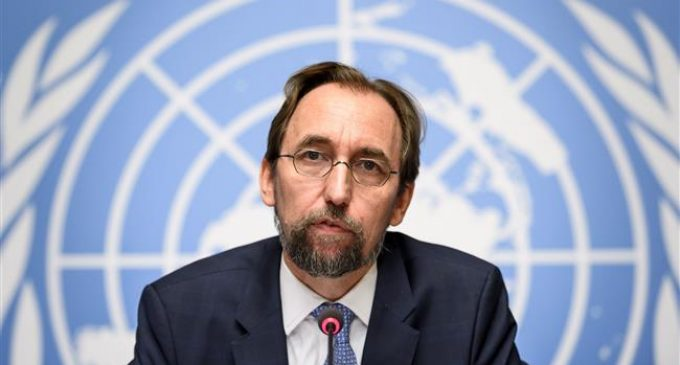 Trump is 'close to inciting violence on the media': UN human rights chief