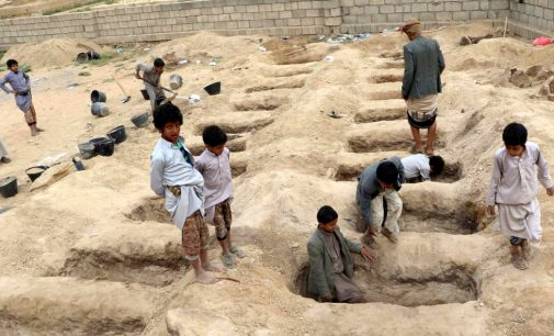 Mourning and Anger at Funeral of Yemeni Children Killed in US-Saudi School Bus Attack