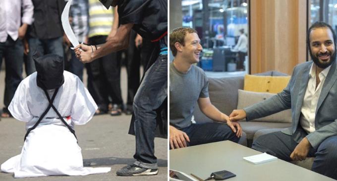 Saudis Move to Behead Female Activist as Facebook Censors Anti-Saudi Content