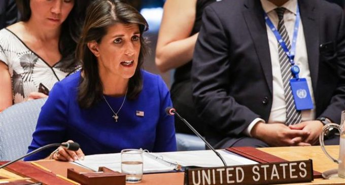 US envoy to UN questions Palestinian right of return to Israel-occupied homeland