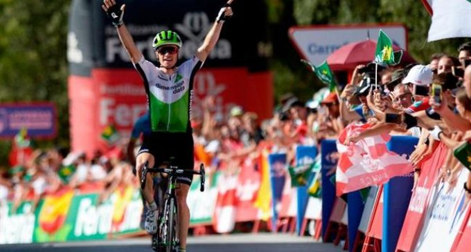 Ben King wins stage four of Vuelta a España