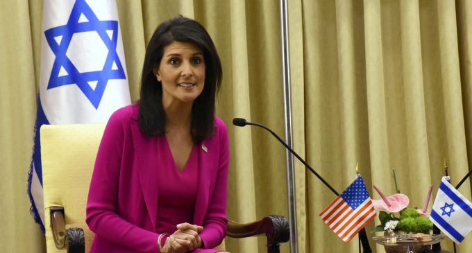 Nikki Haley: Palestinian Right of Return Should be 'Off the Table'