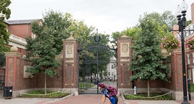 US Justice Deapertment condemns Harvard for 'unlawful racial discrimination""