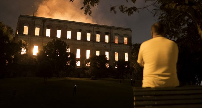 The Incalculable Price of Austerity: Rio Museum Destroyed by Fire, Dry Hydrants