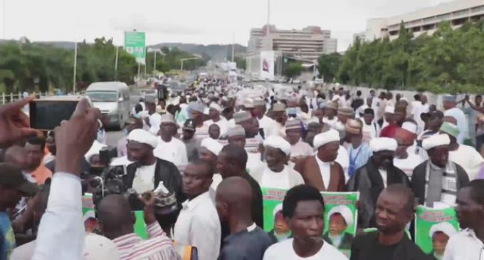 Nigerian protesters call for release of Sheikh Zakzaky