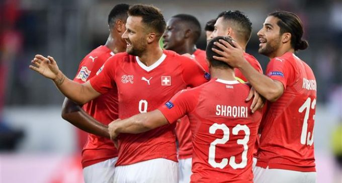 UEFA Nations League: Switzerland beats Iceland 6-0
