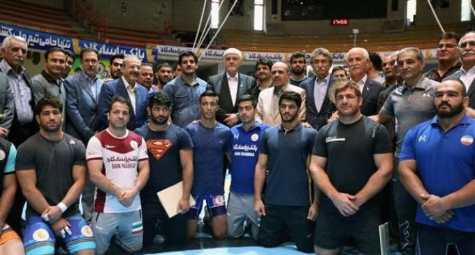 Iran honors top wrestlers of 2018 Asian Games