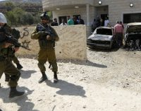 "Israeli NGO: Israeli Soldiers, Settlers Conducting ""Joint Assaults"" on Palestinian Village"