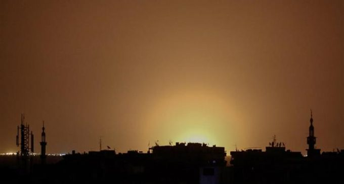 Syrian military downs Israeli missiles fired at Damascus airport