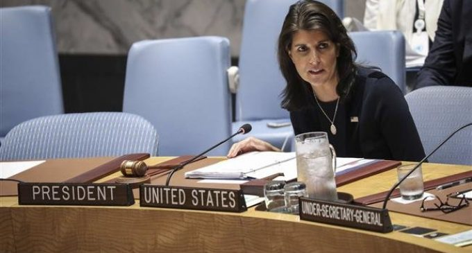 US envoy to UN accuses Russia of 'cheating' on North Korea sanctions