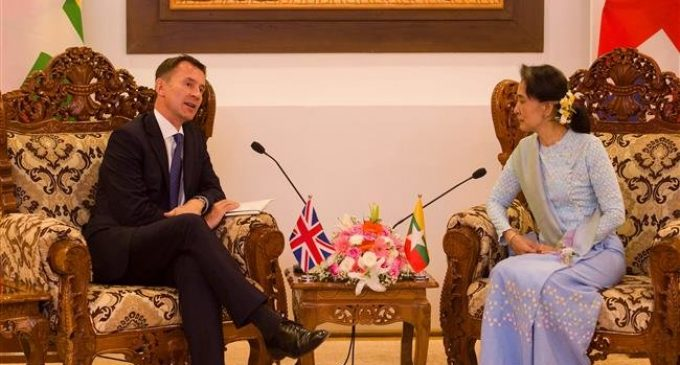Myanmar may need to be referred to ICC: British foreign minister