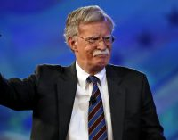 "Bolton: US Will Be ""Aggressive and Unwavering"" on Iran Sanctions"