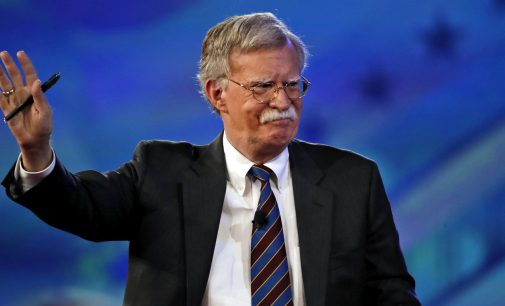 """Bolton: US Will Be """"Aggressive and Unwavering"""" on Iran Sanctions"""