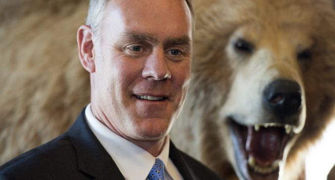 U.S. Interior Secretary Ryan Zinke Threatens Russia With Naval Blockade