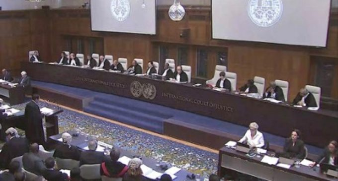 International Court of Justice: forum for Palestine's dispute with the United States