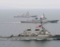 Chinese Warship Comes Within 45 Yards of US Destroyer in South China Sea