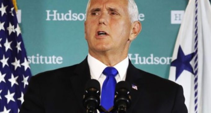 Mike Pence at the Hudson Institute, by Mike Pence
