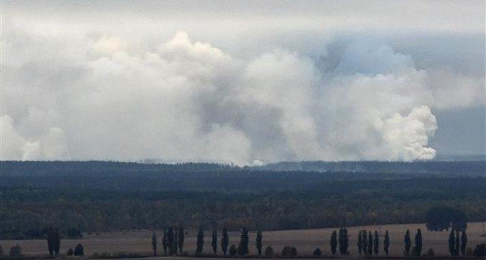 Ukraine evacuating 10,000 after ammo depot blasts
