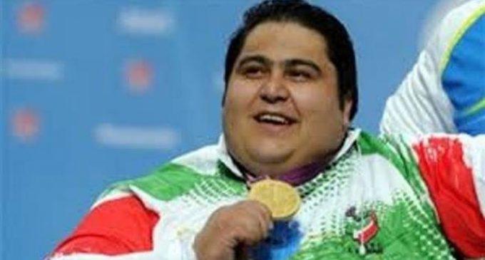 Siamand Rahman wins powerlifting gold at Asian Para Games