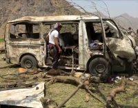 Saudi Coalition Targets Buses of Fleeing Civilians in Hodeida, Killing 19