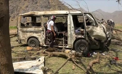 Saudi Coalition Targets Buses of Fleeing Civilians in Hodeida, Killing 19